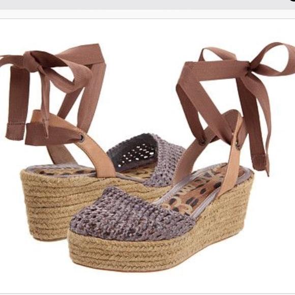 c254bb414af75c Sam Edelman Shoes - Sam Edelman Leona Wedge Sandal Size 7